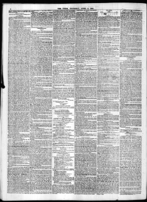 The Times from London,  on April 6, 1843 · Page 8