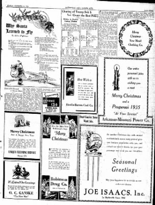 The Courier News from Blytheville, Arkansas on December 24, 1934 · Page 3
