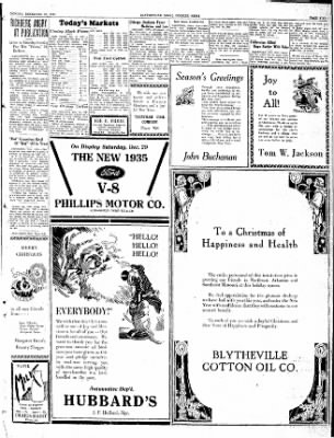 The Courier News from Blytheville, Arkansas on December 24, 1934 · Page 5