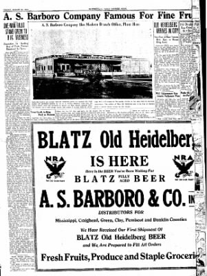 The Courier News from Blytheville, Arkansas on August 25, 1933 · Page 3