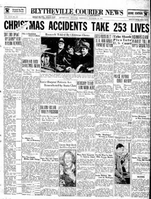 The Courier News from Blytheville, Arkansas on December 26, 1934 · Page 1