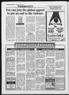 Quesnel Cariboo Observer from Quesnel, British Columbia, Canada on September 23, 2001 · 16