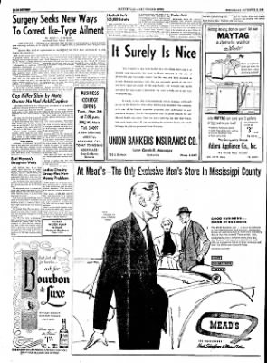 The Courier News from Blytheville, Arkansas on November 2, 1955 · Page 16
