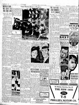 The Courier News from Blytheville, Arkansas on December 26, 1934 · Page 6