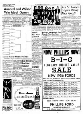 The Courier News from Blytheville, Arkansas on February 16, 1956 · Page 9