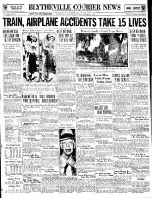 The Courier News from Blytheville, Arkansas on August 29, 1933 · Page 1