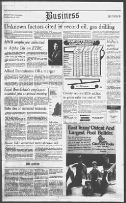 The Marshall News Messenger from Marshall, Texas on May 3, 1981 · 33