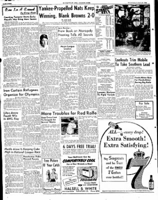 The Courier News from Blytheville, Arkansas on May 21, 1952 · Page 8