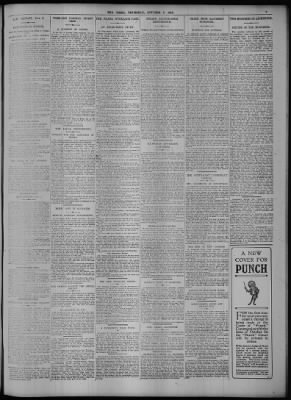 The Times from London, Greater London, England on October 9, 1913 · Page 3
