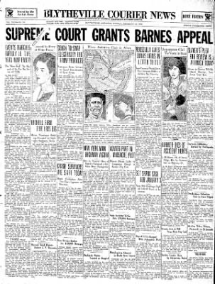 The Courier News from Blytheville, Arkansas on December 31, 1934 · Page 1