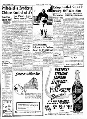 The Courier News from Blytheville, Arkansas on October 18, 1954 · Page 9