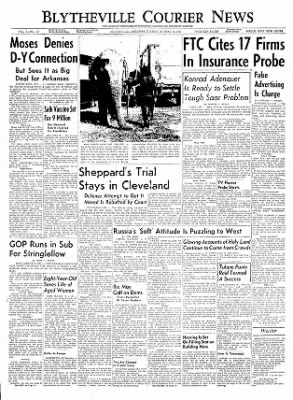 The Courier News from Blytheville, Arkansas on October 19, 1954 · Page 1