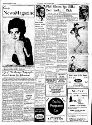 The Courier News from Blytheville, Arkansas on February 20, 1956 · Page 9