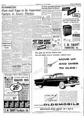 The Courier News from Blytheville, Arkansas on October 19, 1954 · Page 2