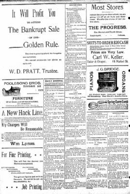 Logansport Pharos-Tribune from Logansport, Indiana on February 12, 1895 · Page 8
