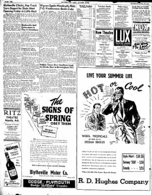 The Courier News from Blytheville, Arkansas on April 29, 1948 · Page 7
