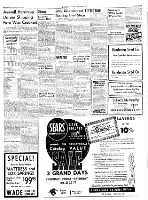 The Courier News from Blytheville, Arkansas on October 20, 1954 · Page 3
