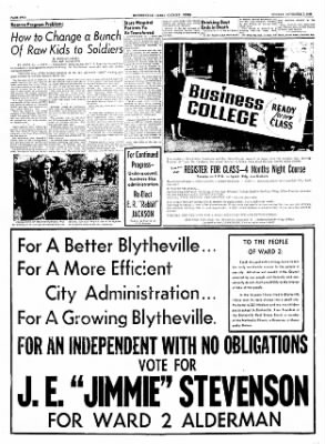 The Courier News from Blytheville, Arkansas on November 7, 1955 · Page 2