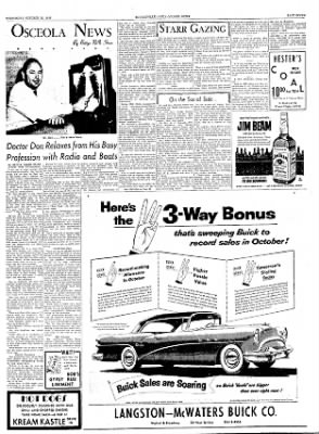 The Courier News from Blytheville, Arkansas on October 20, 1954 · Page 7