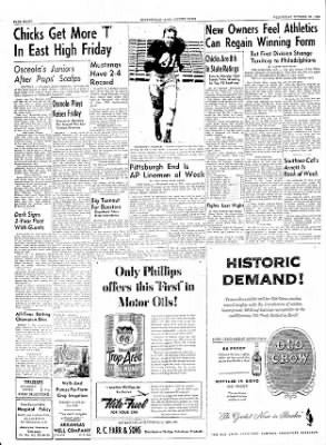 The Courier News from Blytheville, Arkansas on October 20, 1954 · Page 8