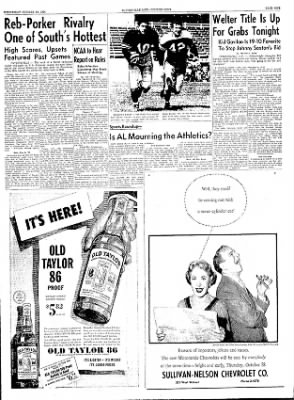 The Courier News from Blytheville, Arkansas on October 20, 1954 · Page 9