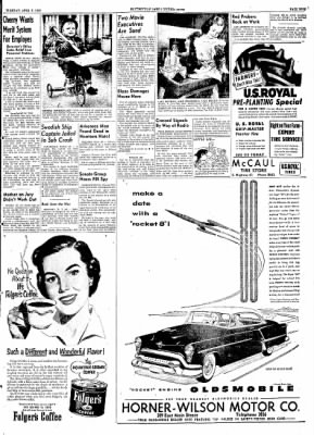 The Courier News from Blytheville, Arkansas on April 7, 1953 · Page 9