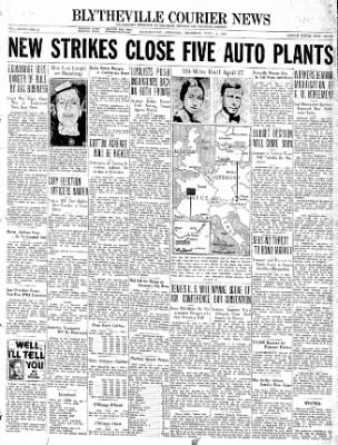 The Courier News from Blytheville, Arkansas on April 1, 1937 · Page 1