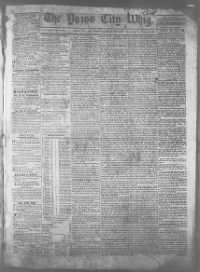 Sample The Weekly American Banner front page