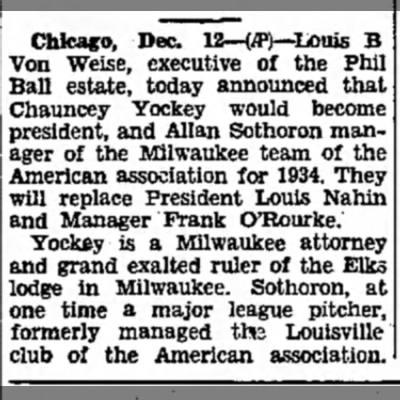 Chauncey Yocker 12 Dec 1932 Tues pg 12