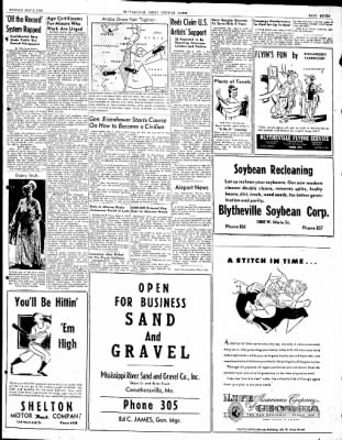 The Courier News from Blytheville, Arkansas on May 3, 1948 · Page 7