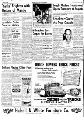 The Courier News from Blytheville, Arkansas on April 8, 1953 · Page 8