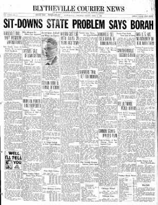 The Courier News from Blytheville, Arkansas on April 2, 1937 · Page 1