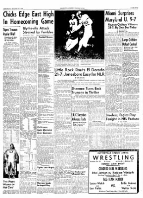 The Courier News from Blytheville, Arkansas on October 23, 1954 · Page 5