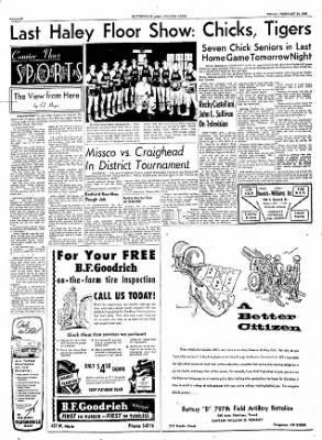 The Courier News from Blytheville, Arkansas on February 24, 1956 · Page 6