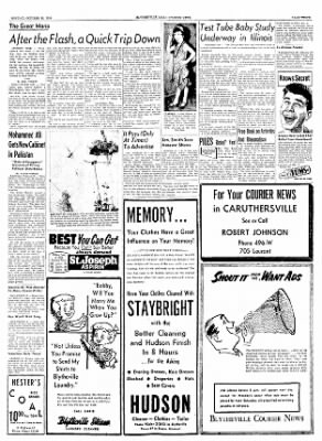 The Courier News from Blytheville, Arkansas on October 25, 1954 · Page 3