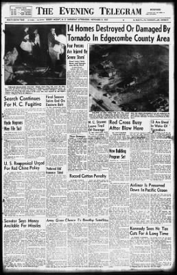 Rocky Mount Telegram from Rocky Mount, North Carolina on November 9, 1957 · 1