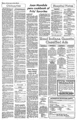 Indiana Gazette from Indiana, Pennsylvania on November 2, 1999 · Page 14