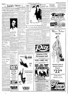 The Courier News from Blytheville, Arkansas on November 9, 1955 · Page 4