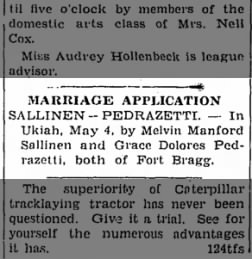Ukiah Daily Journal from Ukiah, California on May 5, 1938 · Page 1