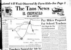 The Taos News El Crepusculo De La Libertad