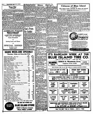 Blue Island Sun Standard From Blue Island Illinois On April 1 1954