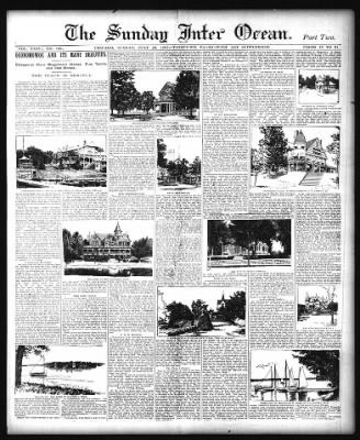The Inter Ocean from Chicago, Illinois on July 28, 1895 · Page 12