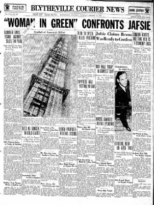 The Courier News from Blytheville, Arkansas on January 10, 1935 · Page 1
