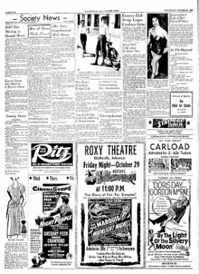 The Courier News from Blytheville, Arkansas on October 27, 1954 · Page 4