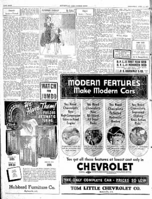 The Courier News from Blytheville, Arkansas on April 7, 1937 · Page 8