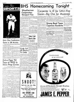 The Courier News from Blytheville, Arkansas on November 11, 1955 · Page 10