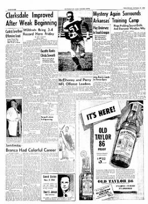 The Courier News from Blytheville, Arkansas on October 27, 1954 · Page 8
