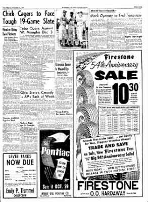 The Courier News from Blytheville, Arkansas on October 27, 1954 · Page 9