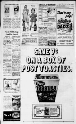 e9761a036 The Des Moines Register from Des Moines, Iowa on September 13, 1968 · 14