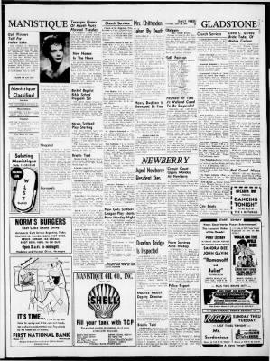 The Escanaba Daily Press from Escanaba, Michigan on June 16, 1962 · Page 9